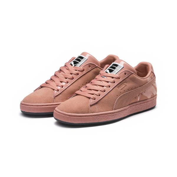 PUMA x MAC ONE Crème De Nude Women's Suede, Muted Clay-Muted Clay, large