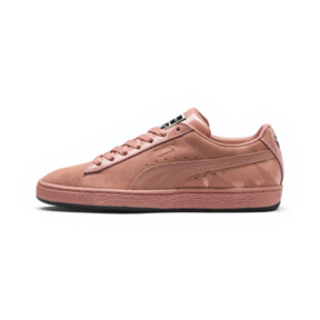 Thumbnail 1 of PUMA x MAC ONE Crème De Nude Women's Suede, Muted Clay-Muted Clay, medium