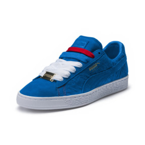 Thumbnail 1 of Basket Suede Classic PARIS, Electric Blue Lemonade, medium