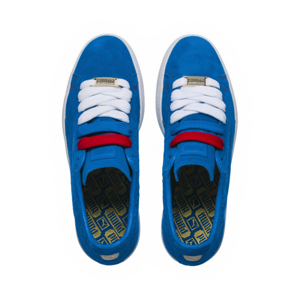 Basket Suede Classic PARIS, Electric Blue Lemonade, large