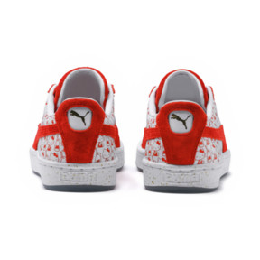 Thumbnail 4 of PUMA x HELLO KITTY Women's Suede, Bright Red-Bright Red, medium
