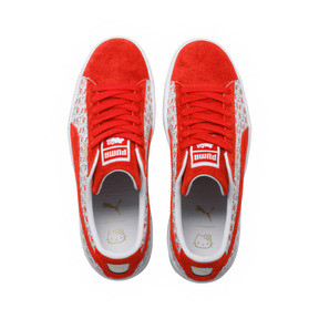 Thumbnail 5 of PUMA x HELLO KITTY Women's Suede, Bright Red-Bright Red, medium