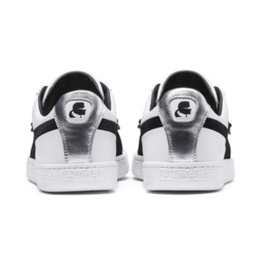 Thumbnail 4 of PUMA x KARL LAGERFELD Suede Classic Sneakers, Puma White-Puma Black, medium