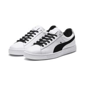 Thumbnail 7 of PUMA x KARL LAGERFELD Suede Classic Sneakers, Puma White-Puma Black, medium
