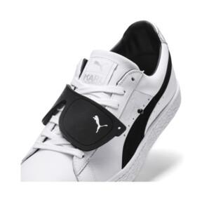 Thumbnail 8 of PUMA x KARL LAGERFELD Suede Classic Sneakers, Puma White-Puma Black, medium