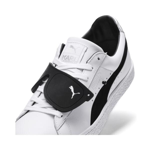 PUMA x KARL LAGERFELD Suede Classic Sneakers, Puma White-Puma Black, large