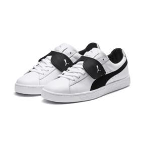 Thumbnail 2 of PUMA x KARL LAGERFELD Suede Classic Sneakers, Puma White-Puma Black, medium