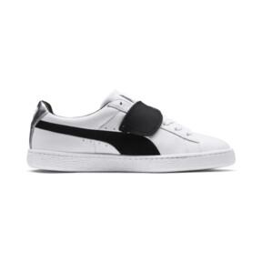 Thumbnail 5 of PUMA x KARL LAGERFELD Suede Classic Sneakers, Puma White-Puma Black, medium