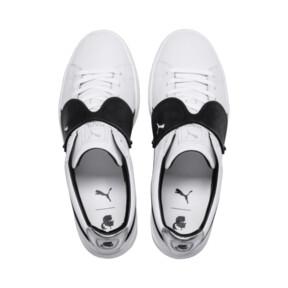 Thumbnail 9 of PUMA x KARL LAGERFELD Suede Classic Sneakers, Puma White-Puma Black, medium