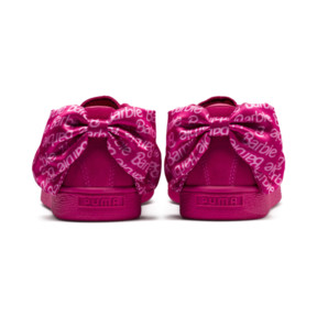 Thumbnail 4 of PUMA x BARBIE Suede Classic Trainers (With Doll), Raspberry Pink-white, medium