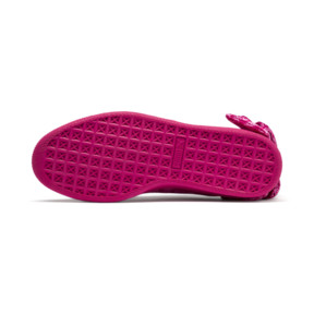 Thumbnail 3 of PUMA x BARBIE Suede Classic Trainers (With Doll), Raspberry Pink-white, medium