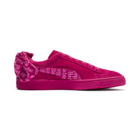 Thumbnail 5 of PUMA x BARBIE Suede Classic Trainers (With Doll), Raspberry Pink-white, medium