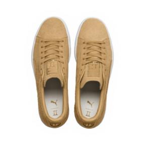 Thumbnail 9 of PUMA x CHAPTER II Suede Classic Sneakers, Taffy-Taffy, medium