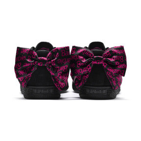 Thumbnail 4 of PUMA x BARBIE Suede Classic Trainers (No Doll), Puma Black, medium