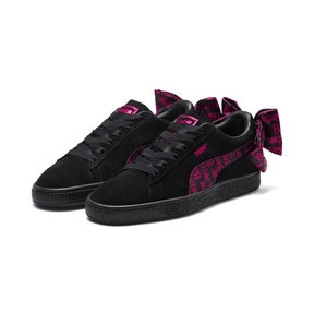 Thumbnail 2 van PUMA x BARBIE Suede Classic sneakers (zonder pop), Puma Black, medium