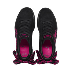 Thumbnail 7 of PUMA x BARBIE Suede Classic Trainers (No Doll), Puma Black, medium