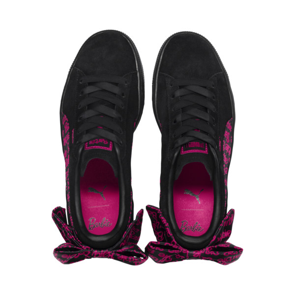 PUMA x BARBIE Suede Classic Trainers (No Doll), Puma Black, large