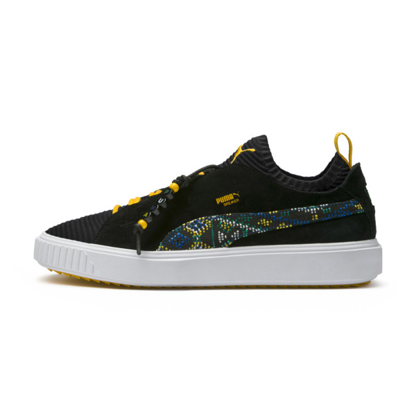 Breaker Knit Carnival Sneakers, Puma Black, large