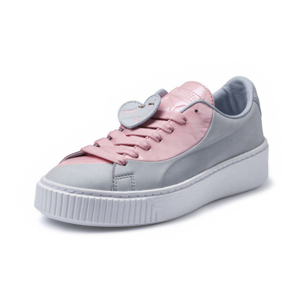 100% authentic be5e6 1fa0a Basket Platform Valentine Women's Sneakers