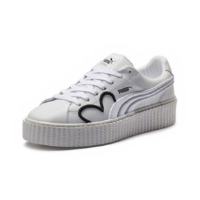 Thumbnail 1 of FENTY Clara Lionel Men's Creeper, Puma White-Puma Black-PGold, medium
