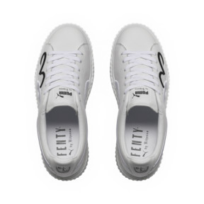 Thumbnail 5 of FENTY Clara Lionel Men's Creeper, Puma White-Puma Black-PGold, medium
