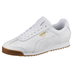 Thumbnail 1 of Roma Classic Gum Trainers, Puma White-Puma Team Gold, medium