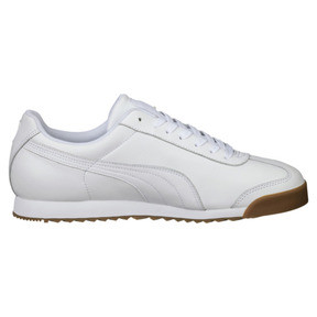 Thumbnail 4 of Roma Classic Gum Trainers, Puma White-Puma Team Gold, medium