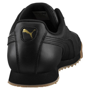 Thumbnail 3 of Roma Classic Gum Trainers, Puma Black-Puma Team Gold, medium