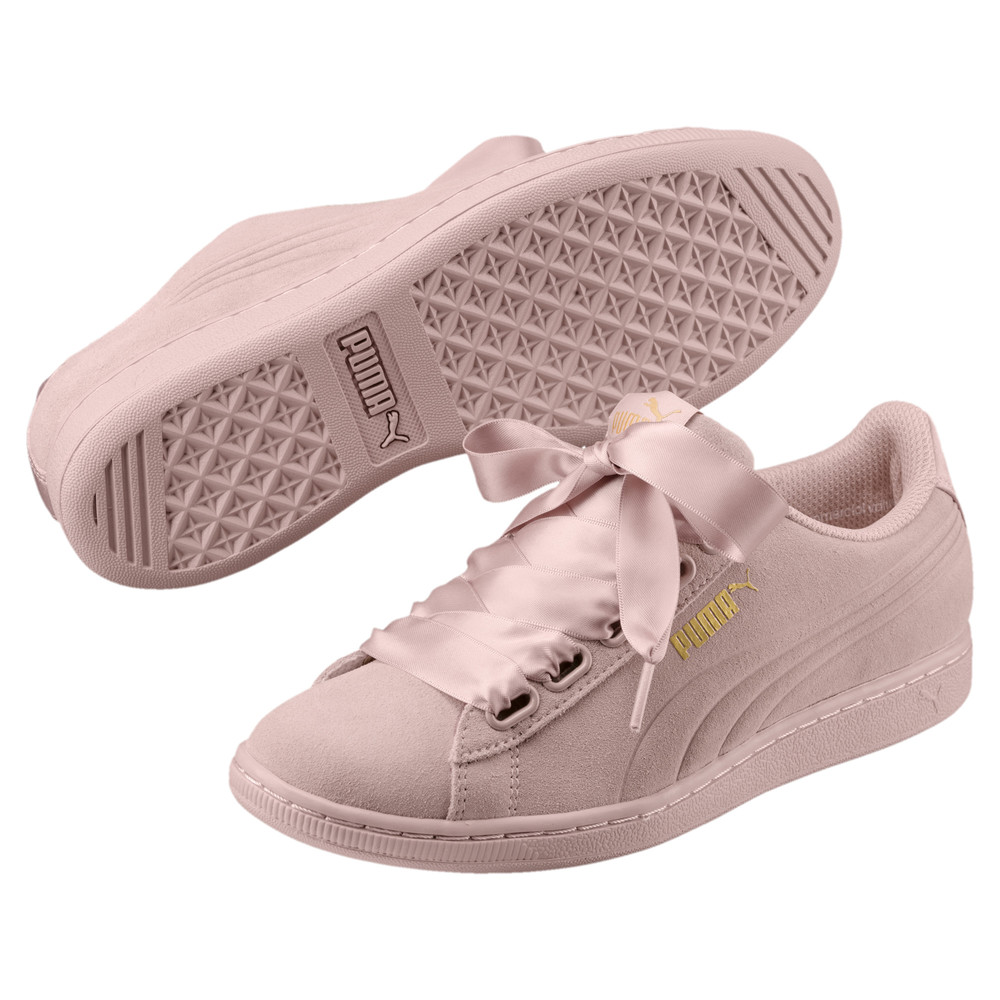 Image Puma Vikky Ribbon Satin Women's Trainers #2