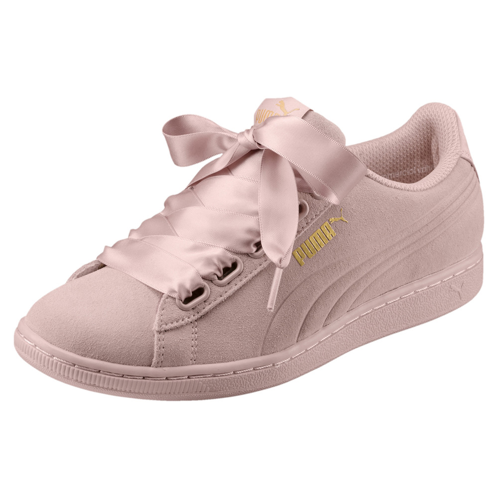 Image Puma Vikky Ribbon Satin Women's Trainers #1