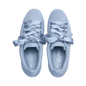 Thumbnail 6 of Vikky Ribbon Satin Women's Sneakers, CERULEAN-CERULEAN, medium