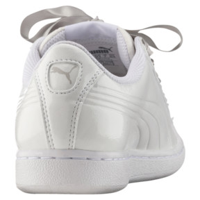 Thumbnail 4 of Vikky Ribbon Patent Women's Sneakers, Puma White-Puma White, medium