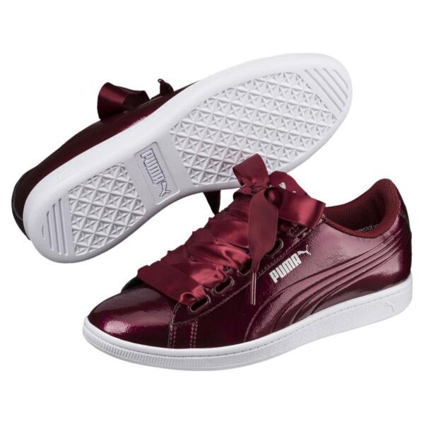 Vikky Ribbon Patent Women's Sneakers, 04, large