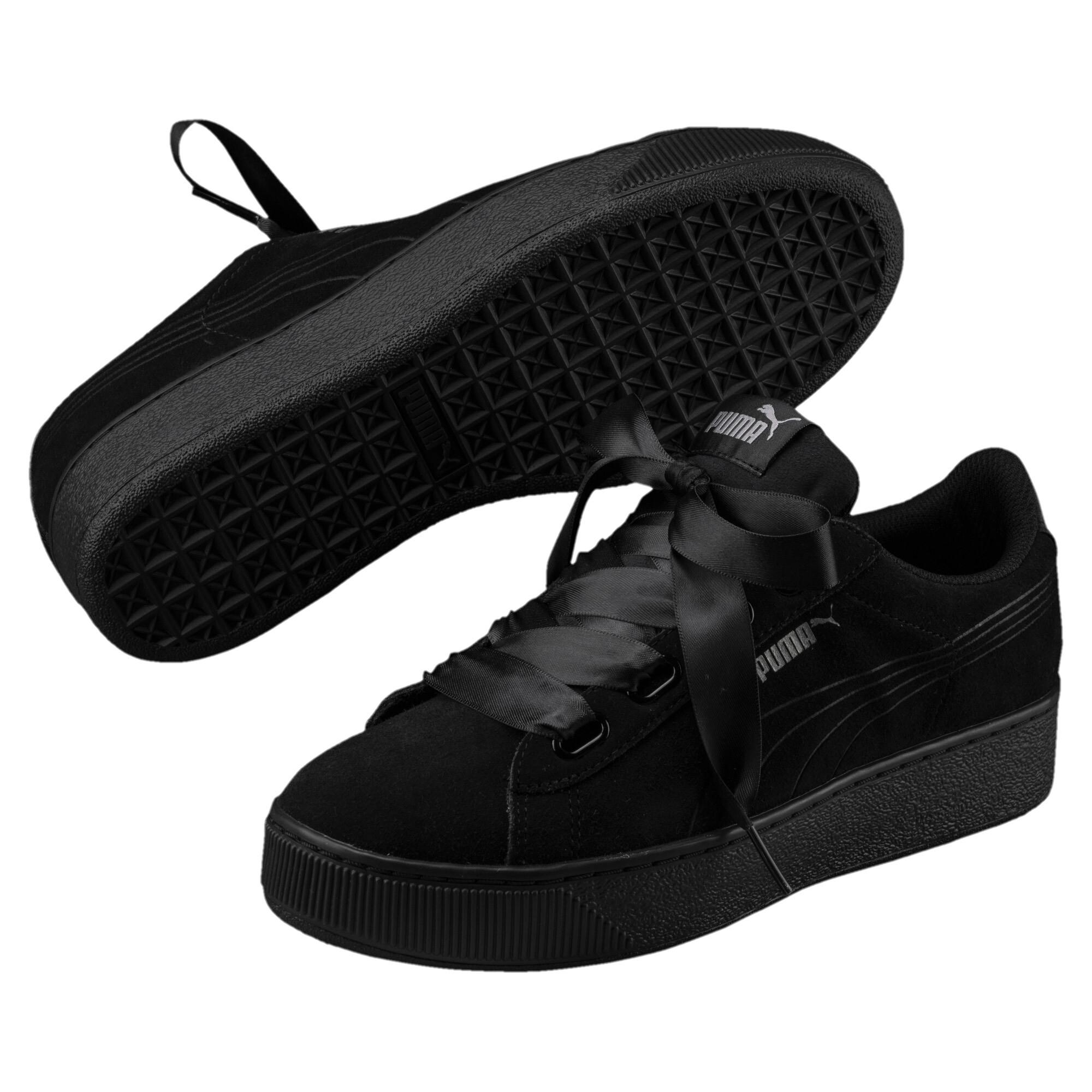 033770840a5 Vikky Platform Ribbon Womens' Sneakers | 10 - Black | Puma