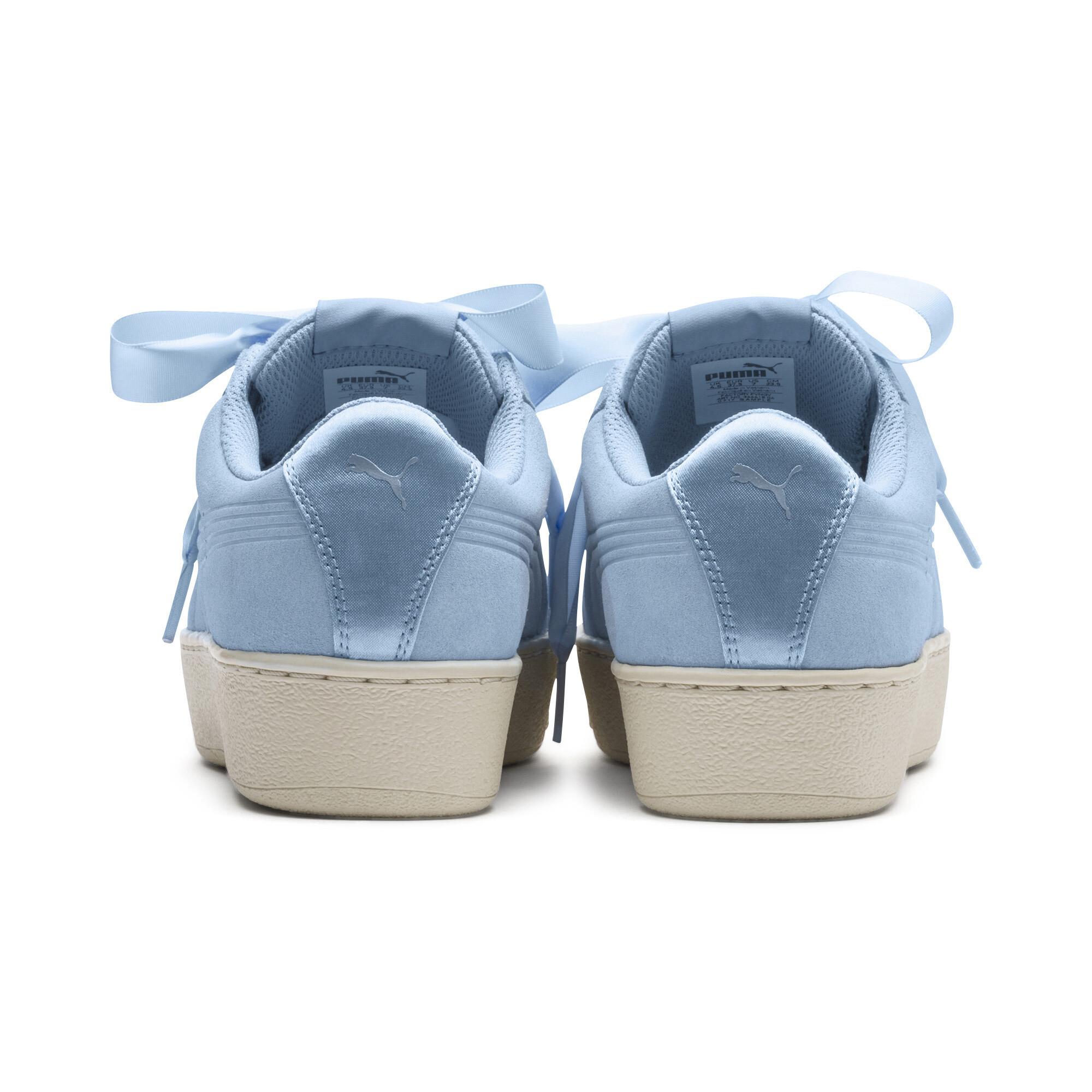 Image Puma Vikky Platform Ribbon Womens' Sneakers #4