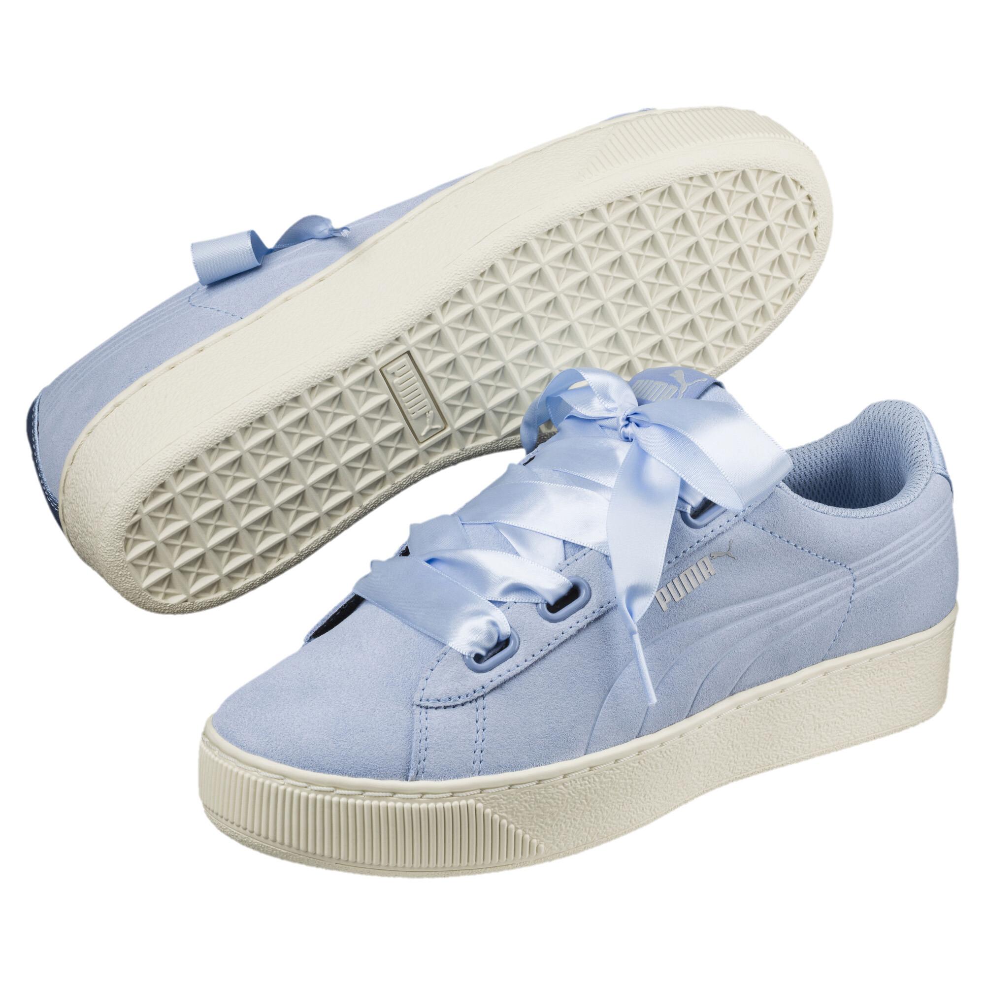 6999e86191c Vikky Platform Ribbon Womens' Sneakers | 80 - Blue | Puma