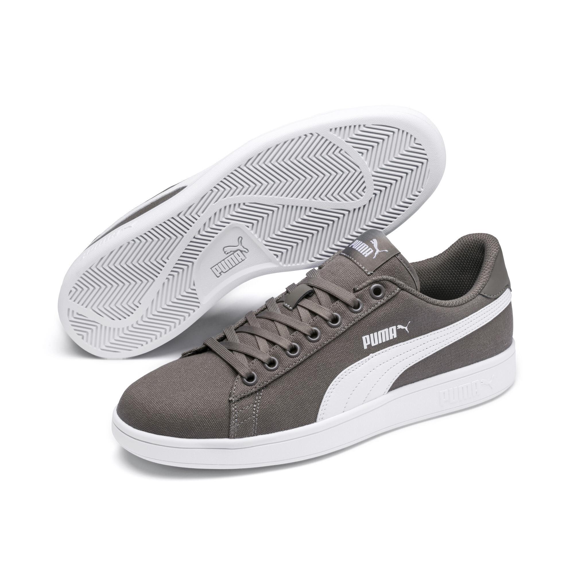 c7fee37a55 Details about PUMA PUMA Smash v2 Canvas Sneakers Men Shoe Basics. The Official  PUMA eBay Store ...