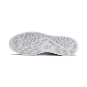 Thumbnail 3 of PUMA Smash v2 Canvas Sneakers, Charcoal Gray-Puma White, medium