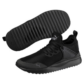 Thumbnail 2 of Pacer Next Cage JR Sneakers, Puma Black-Puma Black, medium