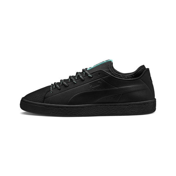 PUMA x DIAMOND Basket Sock Lo Sneakers, Puma Black, large