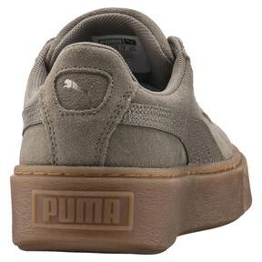 Imagen en miniatura 4 de Zapatillas de mujer Suede Platform Bubble, Cordón elástico, mediana