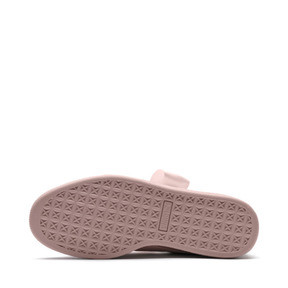 Thumbnail 6 of Suede Heart Bubble Women's Trainers, Pearl-Pearl, medium