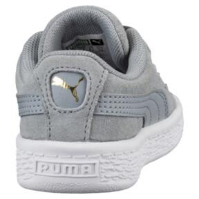 Thumbnail 4 of Suede Classic B-BOY Fabulous Infant Sneakers, Quarry-Quarry, medium