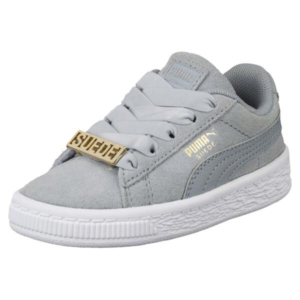 Suede Classic B-BOY Fabulous Infant Sneakers, Quarry-Quarry, large