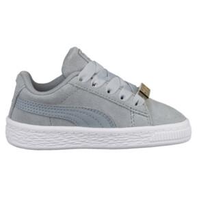 Thumbnail 3 of Suede Classic B-BOY Fabulous Infant Sneakers, Quarry-Quarry, medium
