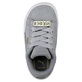 Thumbnail 5 of Suede Classic B-BOY Fabulous Infant Sneakers, Quarry-Quarry, medium