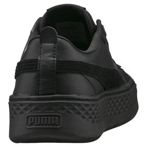 Thumbnail 3 of Puma Smash Platform Women's Shoes, Puma Black-Puma Black, medium