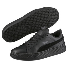 Thumbnail 2 of Puma Smash Platform Women's Shoes, Puma Black-Puma Black, medium