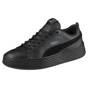 Thumbnail 1 of Puma Smash Platform Women's Shoes, Puma Black-Puma Black, medium