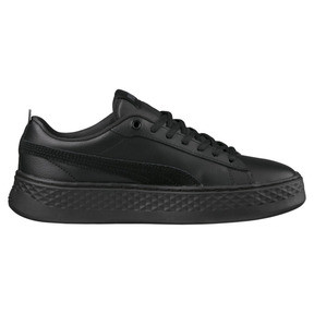 Thumbnail 4 of Puma Smash Platform Women's Shoes, Puma Black-Puma Black, medium